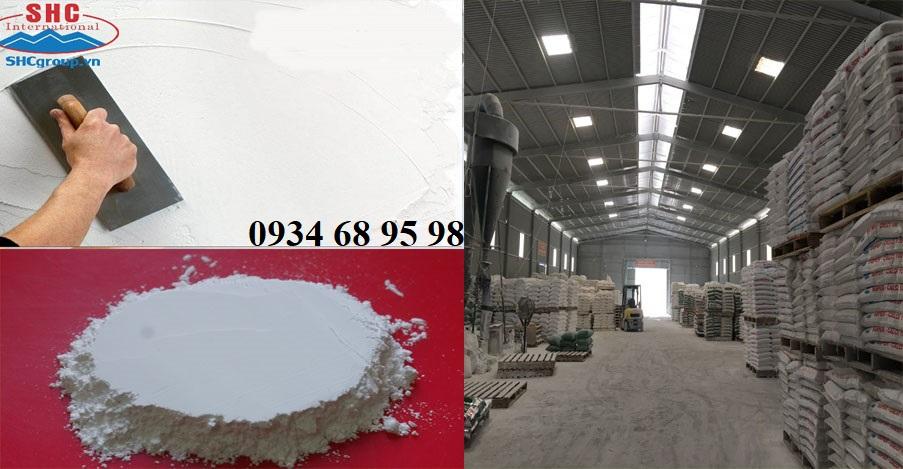 Bột đá và ảnh xưởng sản xuất
