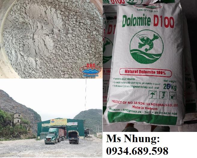 Dolomite ứng dụng trong thủy sản và thức ăn thủy sản